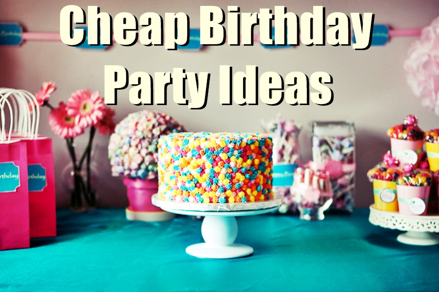Budget friendly party ideas